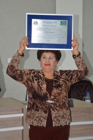 Homenagem para Professora Zilda Pimentel