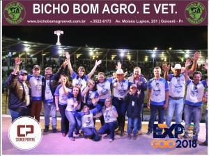 Expo Goio 2018 - Fotos do Domingo Noite
