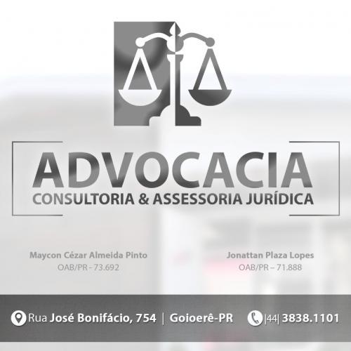 Advocacia Maycon Cezar e Jonattan Plaza
