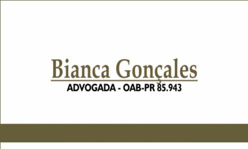 Advogada Bianca Gonçales