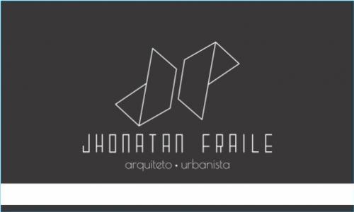 Jhonatan Fraile - Arquiteto e Urbanista