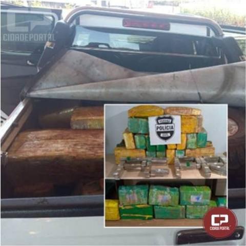 Denarc apreende 628 kg de entorpecentes em Cascavel