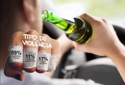 Uma pessoa foi presa por dirigir sob influencia de álcool e violência doméstica em Mariluz