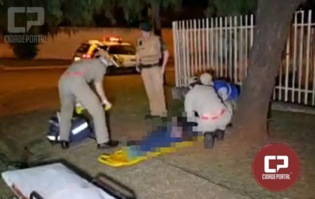Idosa de 70 anos é atropelada e motorista foge sem prestar socorro em Campo Mourão