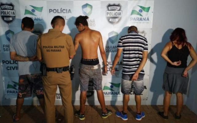 Polícia prende 4 pessoas por furto a carro de canil municipal em Engenheiro Beltrão