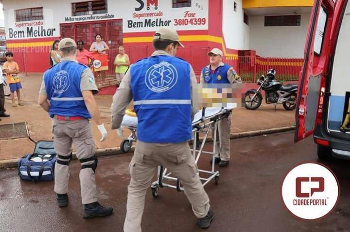 Motoqueiro foge sem prestar socorro após atropelar mulher de 54 anos em Campo Mourão