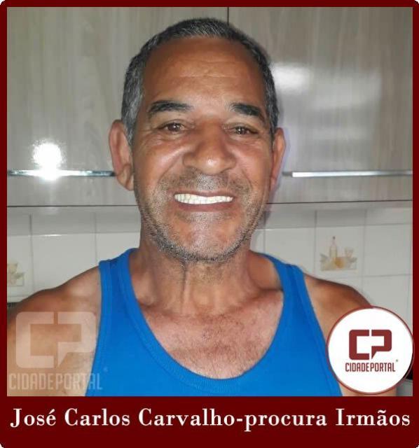 José Carlos Carvalho esta a procura dos irmãos que não vê a 50 anos