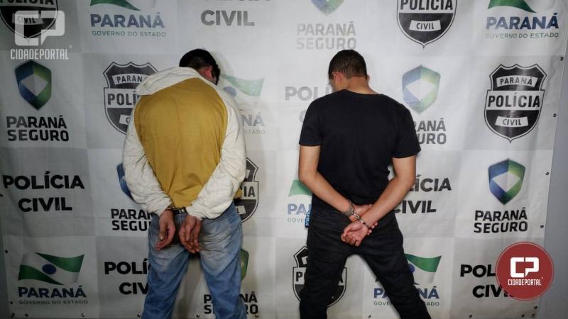 Dois assaltantes são presos em flagrante em Campo Mourão após perseguição Cinematográfica