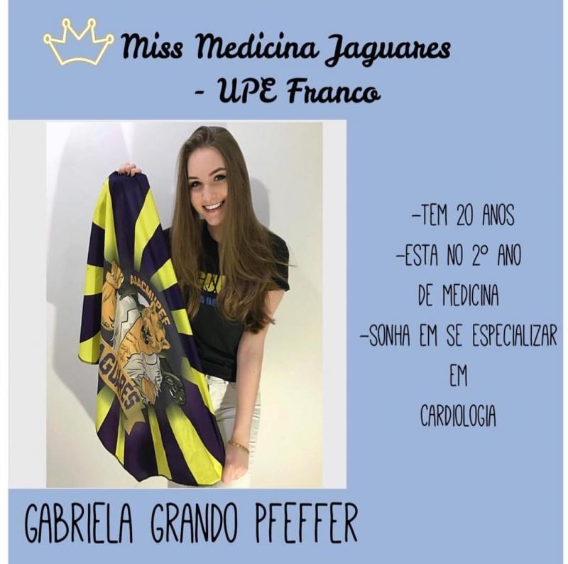 Gabriela Grando esta concorrendo a uma bolsa de estudos na Faculdade de Medicina - curta a foto nos links para ajudar