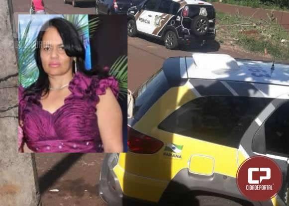 Polícia investiga morte de uma mulher na manhã deste domingo, 02 em Ubiratã