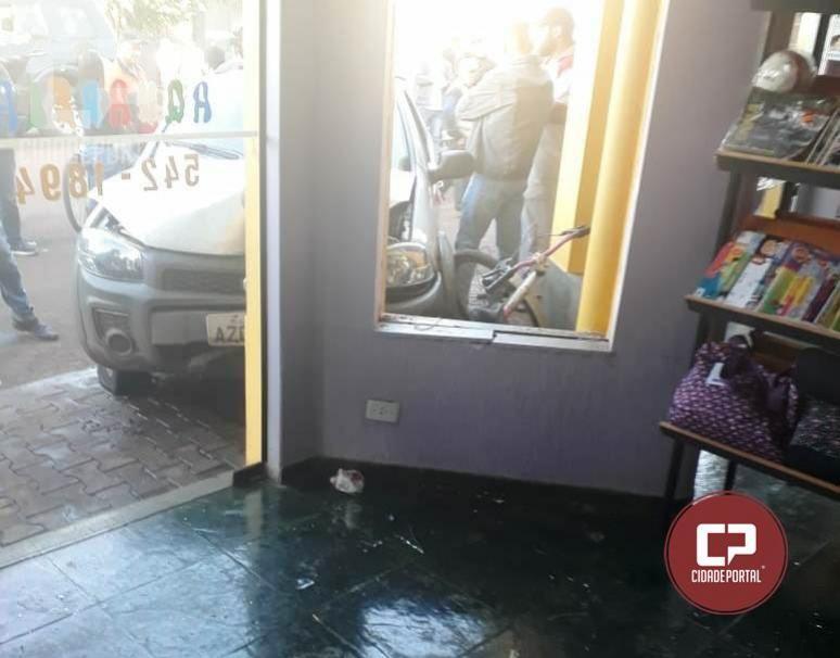 Motorista com sinal de embriaguez perde controle do veículo e atropela senhora de 64 anos em Campina da Lagoa