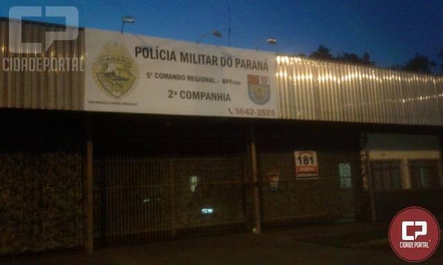 BPFRON prende indivíduo com mandado de prisão em Guaíra