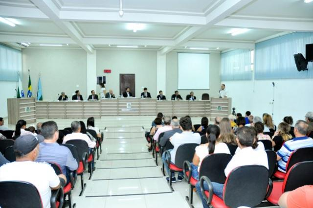 Sessões ordinárias da Câmara de Goioerê retornam na Segunda-feira.