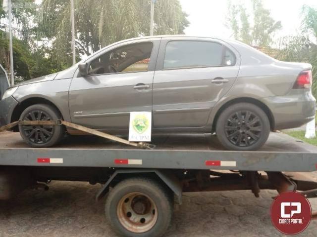 Polícia Militar recupera veículo em Santa Cruz de Monte Castelo
