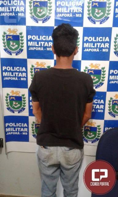 Homem preso ao ir à PM de Japorã/MS em busca de informação