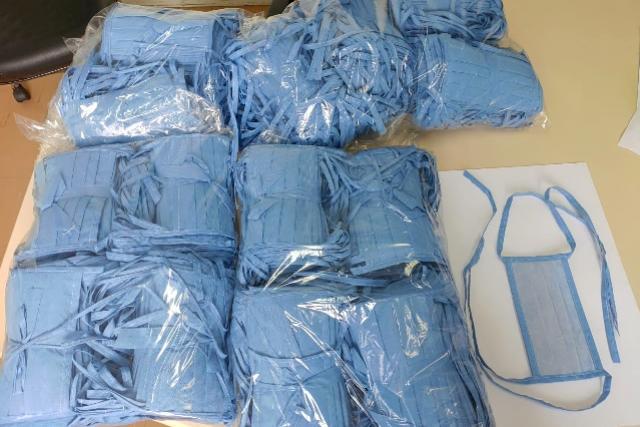 Parceria para produção de máscara entrega primeiras mil peças
