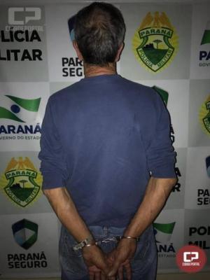 Polícia Militar de Cianorte prende homem e apreendem armas e munições após abordagem a bar
