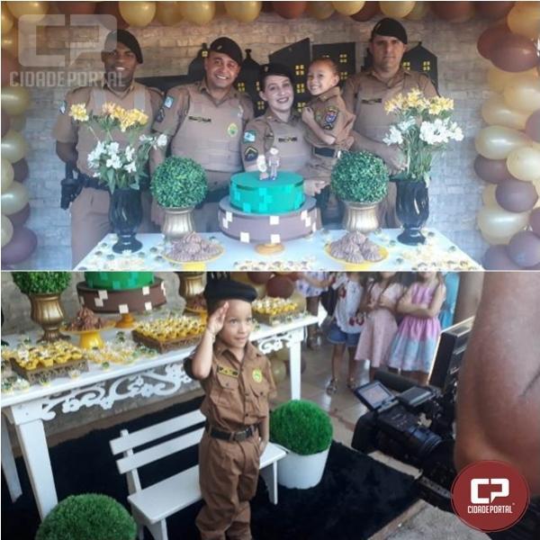7º BPM de Rondon realiza ação comunitária na cidade de Guaporema