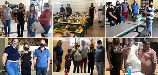 Equipe do NRE de Goioerê fazem visita a 4 escolas estaduais da cidade