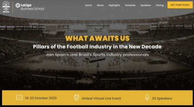 CBF Academy e LaLiga Business School juntas para debater o futebol