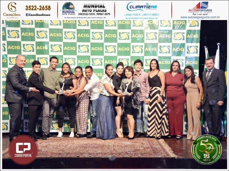 Restaurante Daimaru recebe duas premiações no Melhores do Ano Acig 2018
