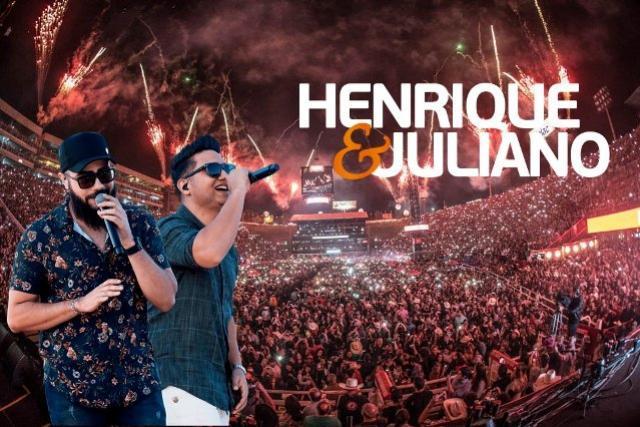Quer assistir o Show da Henrique e Juliano dia 01 de Novembro, Saiba como concorrer a um ingresso
