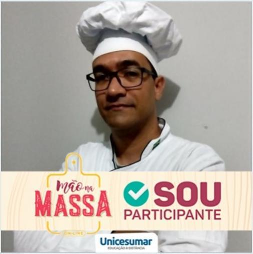 Estudante de Gastronomia de Goioerê é selecionado para participar de reality show promovido pela Unicesumar