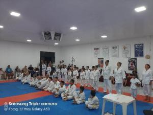 Academia Nintai de karatê do tradicional retorna as atividades dia 06 de Janeiro
