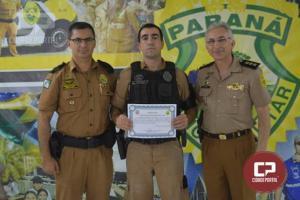 4º BPM realiza homenagem a Policial Militar em destaque do mês de maio