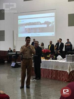4ºBPM apresenta projeto Ceu a mais uma comunidade espiritual em Maringá