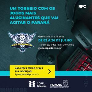 Liga Estudantil PR vai reunir fãs de jogos eletrônicos