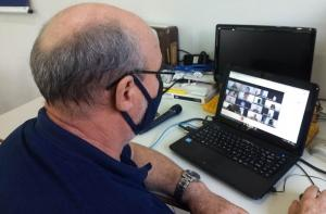 Chefe do NRE de Goioerê, Valdemir Mellero participa de reunião sobre Gestão de pessoas