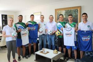 Prefeito Pedro Coelho anuncia a implantação do projeto Esporte Para Toda Vida em Goioerê