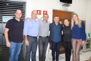 Prefeito Pedro Coelho participa da abertura da 1ª Semana do Empresarial em Goioerê