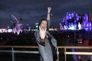O festival de celebridades no primeiro finde do Rock in Rio - Agatha Moreira