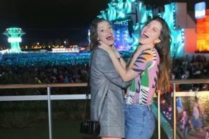 O festival de celebridades no primeiro finde do Rock in Rio - Agatha Moreira e Nathalia Dill