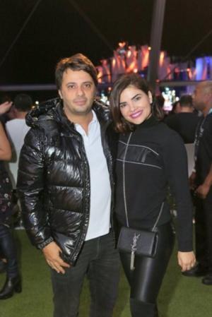 O festival de celebridades no primeiro finde do Rock in Rio - Giuseppe Dioguardi e Vanessa Giacomo
