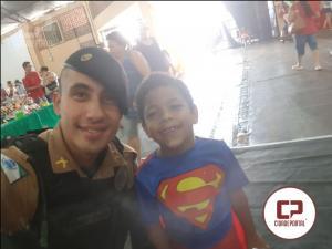 Policiais Militares da Cavalaria de Londrina participa de evento com crianças especiais