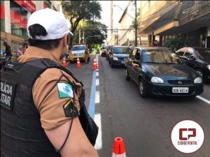 Policiais Militares do 5º BPM em Londrina realizam operação de combate a criminalidade