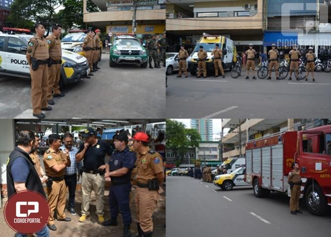 Polícia Militar realizou o lançamento oficial da operação Natal Encantado em Maringá
