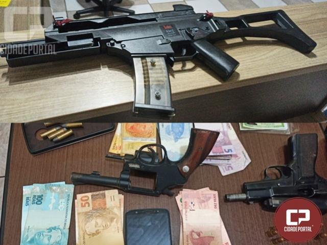 Polícia Militar liberta vítimas de sequestro e prende autores em Cambira