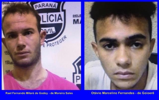 Policia procura por dois foragidos da Cadeia Pública de Mamborê