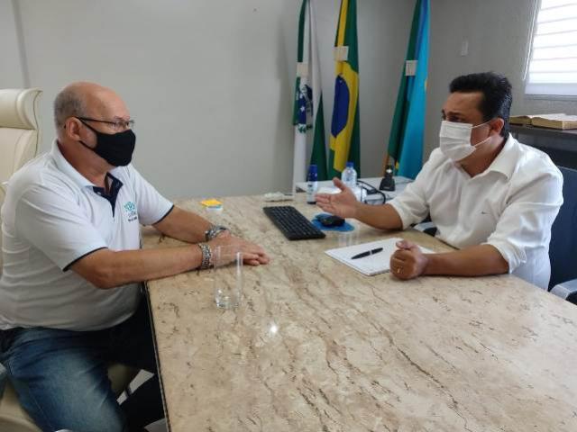 Prefeito Betinho Lima recebeu visita do chefe do NRE de Goioerê