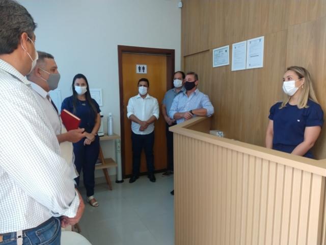 Betinho Lima participou da inauguração da empresa Picotti Radiodiagnóstico Odontológico