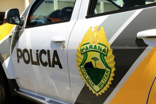 Polícia Militar recupera celular e encaminha uma pessoa para a Delegacia de Goioerê