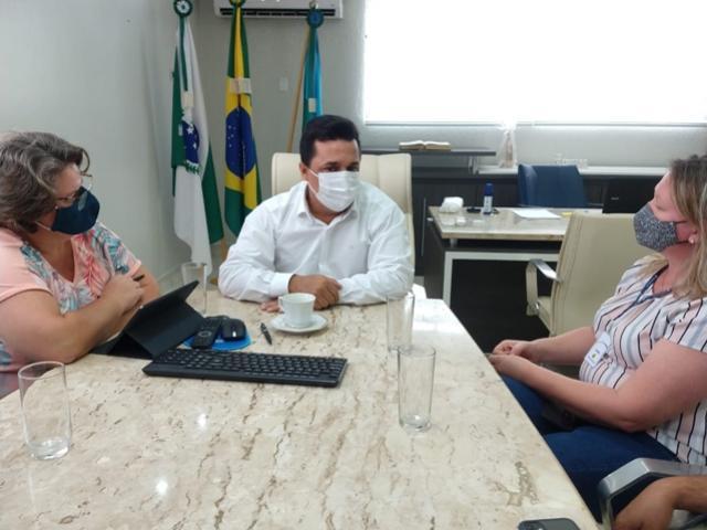 Betinho Lima recebeu visita de empresárias da empresa Objeto Brasil