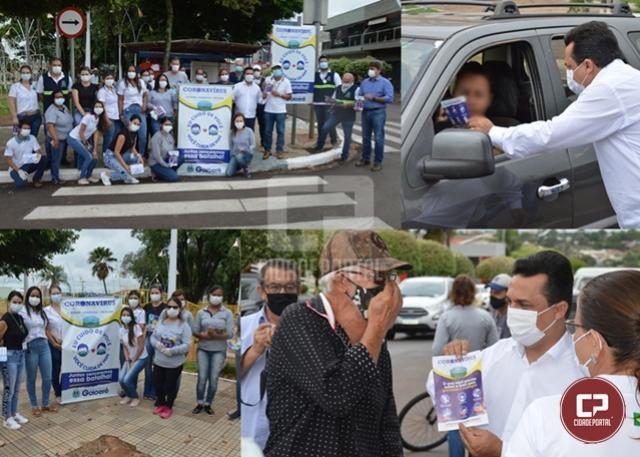 """""""Eu cuido de você - Você cuida de Mim"""": Prefeitura lançou a campanha de enfrentamento ao Covid-19"""