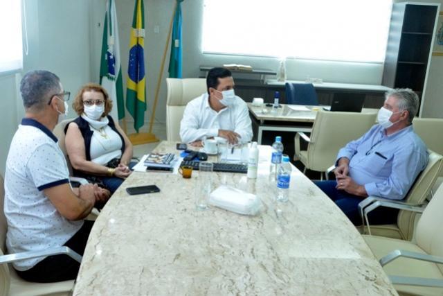 Betinho Lima recebe visita do novo Provedor da Santa Casa de Goioerê