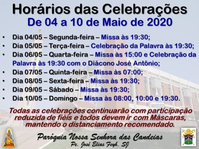 Paróquia Nossa Senhora das Candeias de Goioerê continuará com as Celebrações