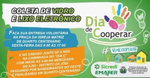 Inicia nesta sexta-feira, 5, coleta de lixo eletrônico em Quarto Centenário